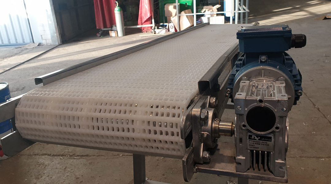 Fabricación cintas transportadoras industriales