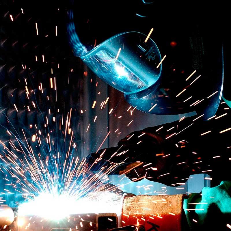 mantenimiento industrial soldadura